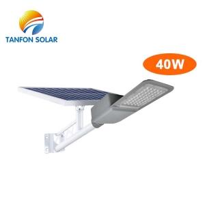 IP65 40W led street light solar waterproof
