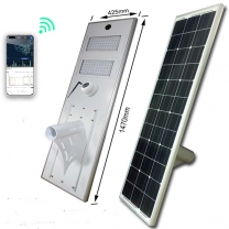 solar power street light with Remote monitoring