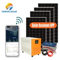27amp 6000w solar power system for home