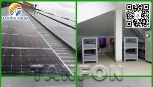 Sierra Leone three-phase 20KW villa solar system
