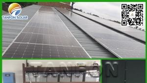 Myanmar Three Phase 20KW solar system Pig Farm Project