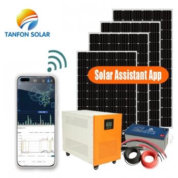 5KW solar panel system for privet house