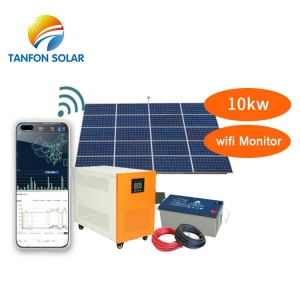 10000w Off Grid Solar Panel Kit 10kw Solar System With Batteries