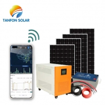 Buy home off grid hybrid solar energy systems with lithium battery