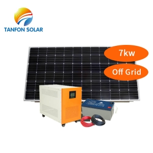 Solar Panel Manufacturers Residential 7000W Off Grid Solar System Price