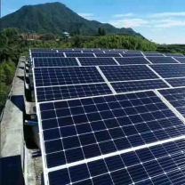 50KW LOW FREQUENCY off-grid solar system with AGM batteries, panels complete