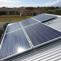 solar system direct power without battery about 25 kw of direct electrical power