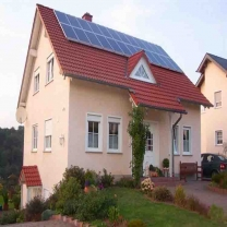 integrates solar system for house use 3kwa
