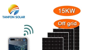 15KW solar system for residential home with bedrooms lounge kitchen dinning room