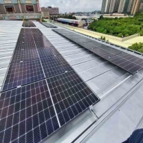 200KW photovoltaic generation system with connection to the public grid