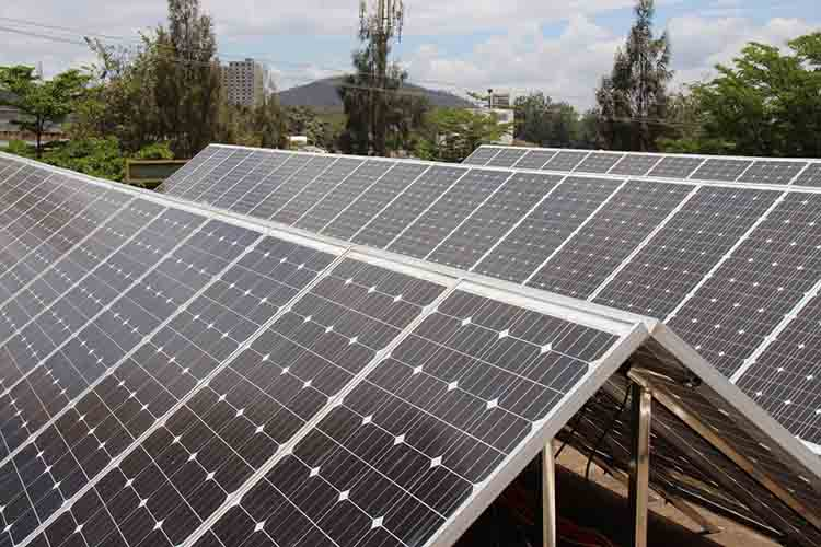 Why Botswana factory install TANFON 30KW battery solar system?