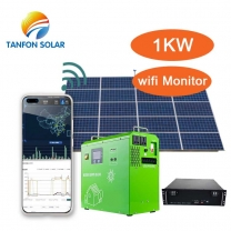All In One  plug and play 3000W solar home system