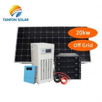 20kw solar installation with Lithium battery