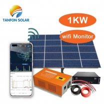1kw solar system for house with Lithium battery storage