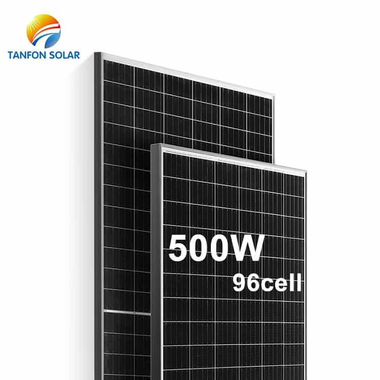 20% Efficiency Super Power 500 Watt Solar Panel