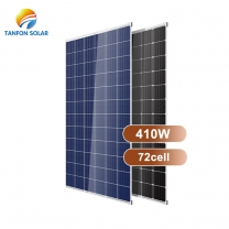 China Top Solar High Efficiency Half Cells Solar Panel 410W