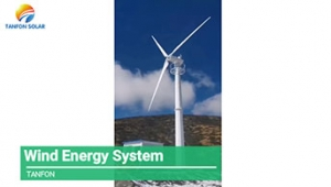 50KW Wind Power System in Tibet,China