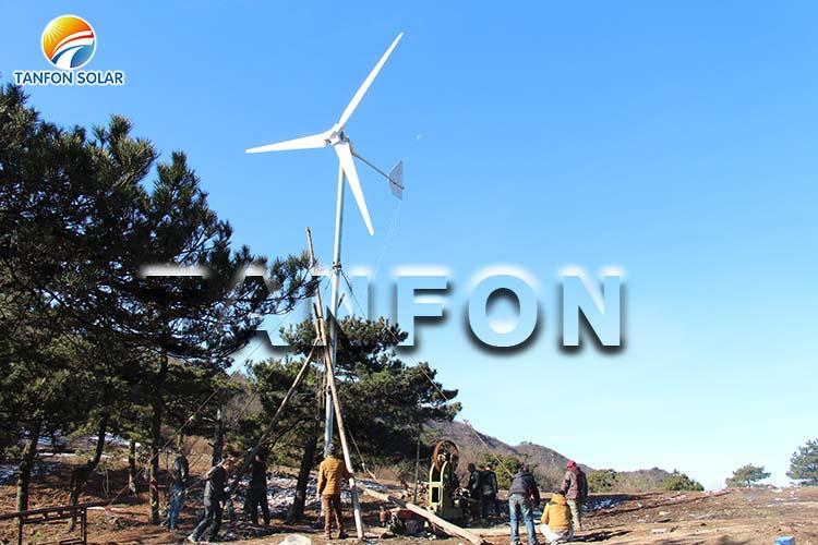 5kw wind turbine system in USA