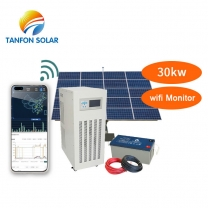 30kw solar system off grid with batteries price 30kva