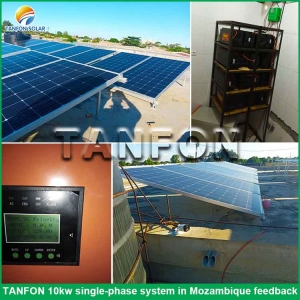 12kva off grid solar system kit battery charge accumulators for lodge Nigeria