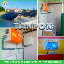 5kVA / 10kVA Solar off-Grid Power System for Home/Office/Farm/Hotel in Angola