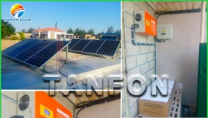 5 KW Off Grid Power System Installed In Mozambique
