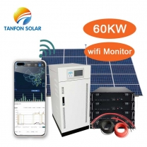 60kw Standalone Customized Solar Panel System for Home or Industrial Use