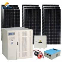 160kva off grid solar energy system to farm use