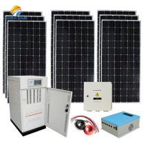 140kva solar power system carry Capacity 10 rooms house hold and appliances