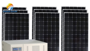300kw off Grid Commercial Solar Energy Storage System Project