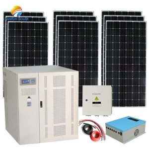 120 KW Off Grid Solar Panel System Commercial Solar Power System