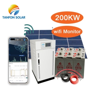 The Maximal Power 200KVA Ground Mount Commercial Solar System