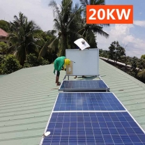20kw off Grid Solar System Home Use Solar Power System with Battery in Botswana