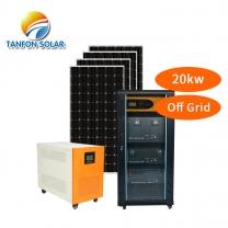 hybrid solar power system 18kw generator solar energy generation Nigeria