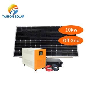 Solar System 10000 Watt Off Grid Solar Power Energy Panel Nigeria
