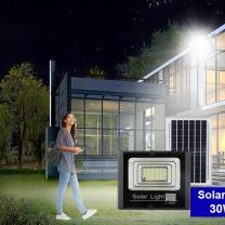 Motion Sensor Integrated All In One Solar Led Flood Light 100w Garden Loodlight