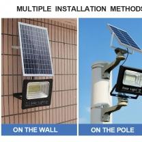 30w integrated solar yard garden floor light for home