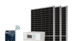 50KVA 50KW Off Grid Solar Power System With Battery Storage