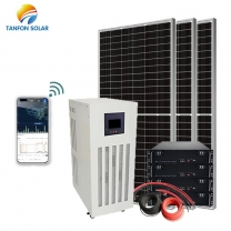 32KVA 32KW Solar System Price Off Grid Solar Panel Power With Battery