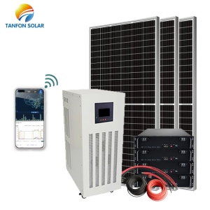20KVA 20KW Solar System Price Off Grid Solar Panel With Battery in Mozambique