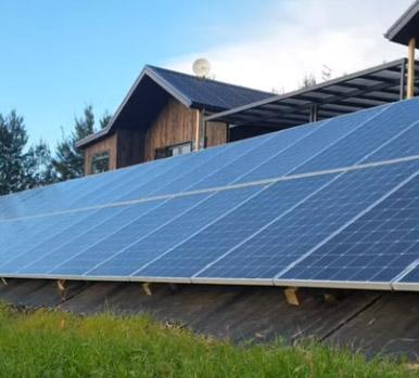 15KW solardieselhybridsystem for farm use in New Zealand