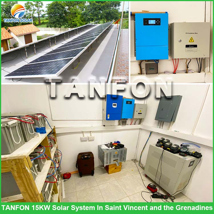 15KW Solar Power System For Farm In St.Vincent And The Grenadines