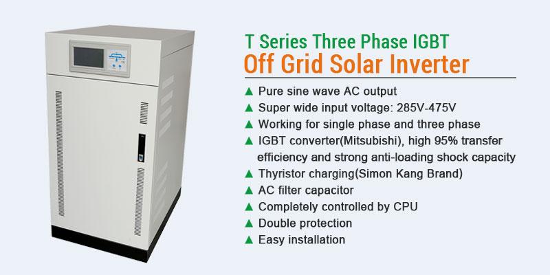 30KW three phase inverter