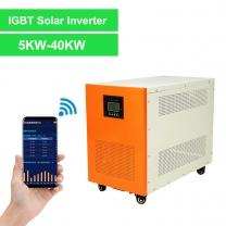 IGBT Module Single Phase Solar Inverter 5000W-40KW
