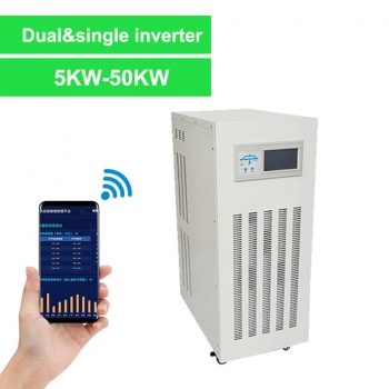 Dual output solar inverter