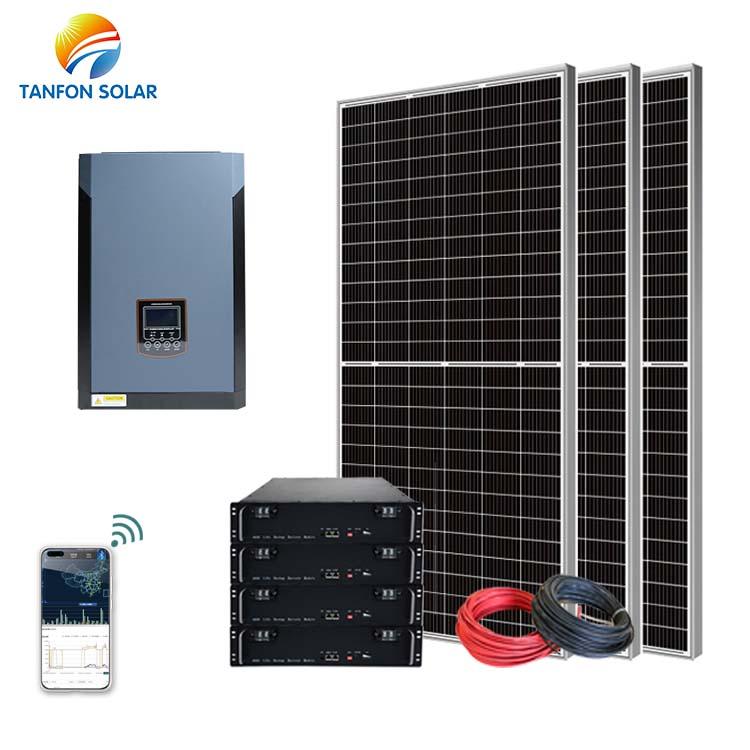 Tanfon 5000W high voltage solar home system