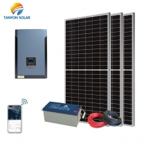 Tanfon 3000W high voltage Home Solar System With APP