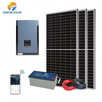 high frequency solar system 3kw gel battery