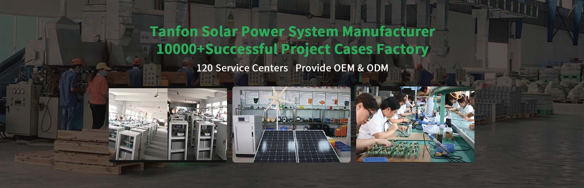tanfon solar inverter, solar system manufacturer