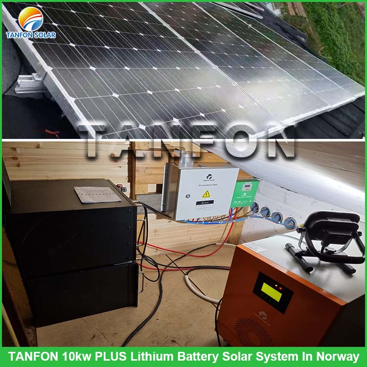 TANFON 10KW PLUS Lithium Battery Solar System in Norway